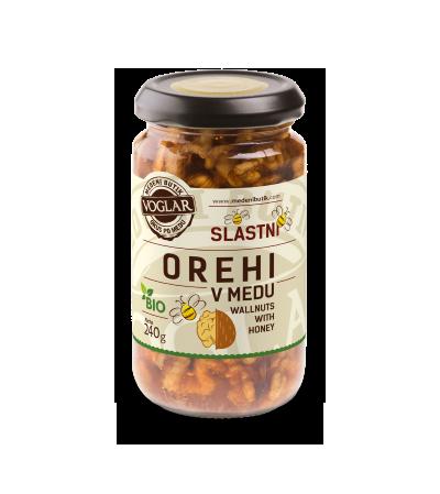 Organic Walnuts in Honey